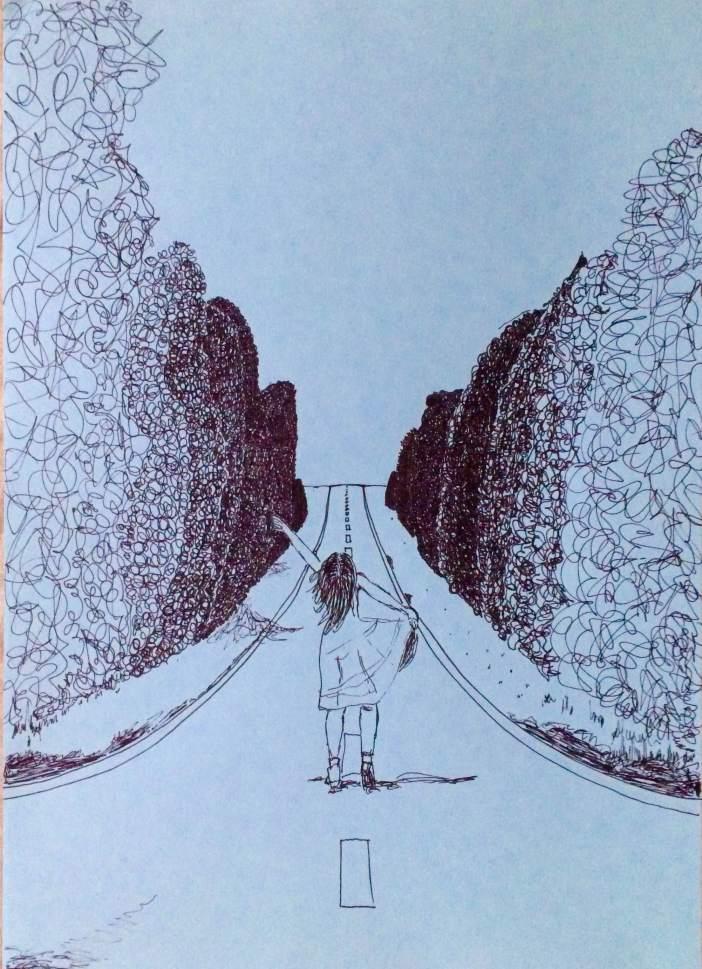 Ilustración de Inés Antón_La Princesa Chicle